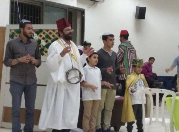 הנוער חוגג מימונה